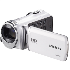 Samsung F90 White Camcorder with 2.7 LCD